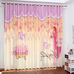 Two Pieces Curtains Physical Blackout Curtains Simple Modern