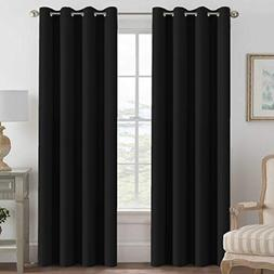 H.VERSAILTEX 100% Blackout Curtains for Bedroom Thermal Insu