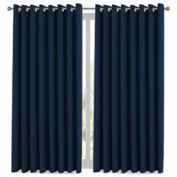 H.VERSAILTEX Ultra Blackout Wider Curtains, Extra Long and W