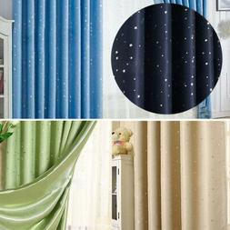 US Stars Blackout Darkening Curtains Window Panel Drapes Doo