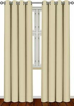 Utopia® Grommet Thermal Insulated Blackout Curtains, 2 Pane