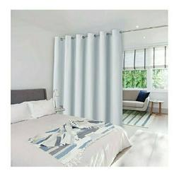 Utterblackout Wide Width Blackout Curtains for Glass Window/