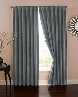 Absolute Zero Velvet Blackout Home Theater 95 Curtain Panel,