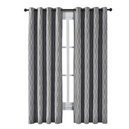 sheetsnthings Victoria Jacquard Blackout Curtains, 2 Panels