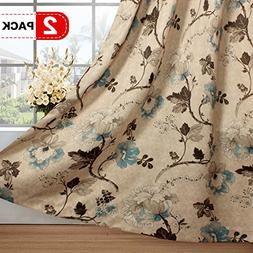 H.VERSAILTEX Ultra Sleep Well Blackout Curtains for Bedroom,