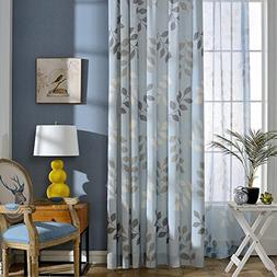 water blue curtains blackout lined