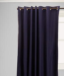 Weathermate Grommet Top Curtain Panel Pair - Navy