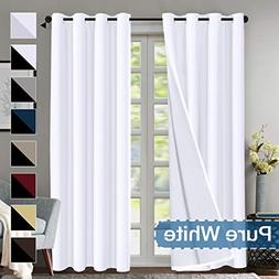 blackout curtain set thermal insulated