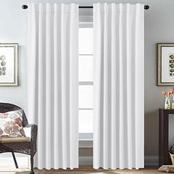 H.VERSAILTEX White Curtains Panels Thermal Insulated Window