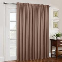 NICETOWN Wide Width Blackout Patio Blinds, Thermal Blackout