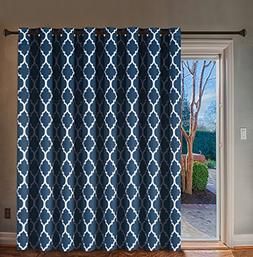 H.VERSAILTEX Wide Width Thermal Insulated Blackout Curtain -