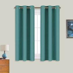 NICETOWN Window Curtain Panels, Thermal Insulated Solid Grom