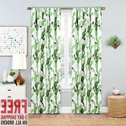 Window Curtains 42 X 84 Inch Length Blackout Home Styling Ea