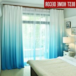 Window Curtains For Living Room Bedroom Kitchen Tulle Blacko
