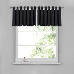 NICETOWN Window Dressing Blackout Valance for Bathroom - W52