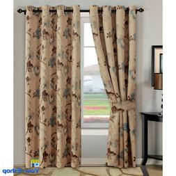 "Window Grommet Curtains 2 Panels 63 84 96 "" Blackout Thermal"