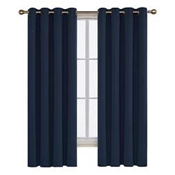 Deconovo Window Thermal Insulated Grommet Blackout Curtains