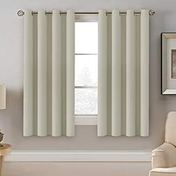 H.VERSAILTEX Window Treatment Blackout Curtains 63 inches Le