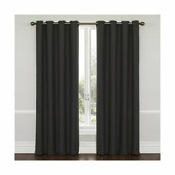 Eclipse Wyndham Grommet Energy-Efficient Blackout Curtain Pa