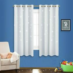 NICETOWN Zodiac Constellation Blackout Curtains With Star Cu